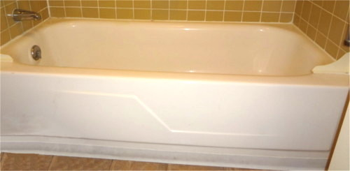 tub prior to bathtub conversion