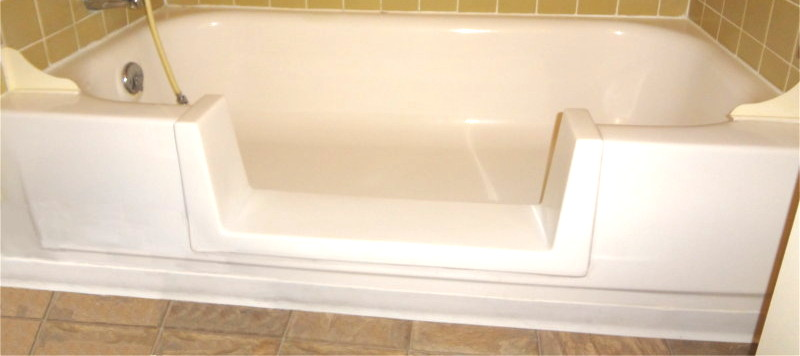 Add A Convenient Removable Watertight Tub Door To Easily Convert From Step  In Shower To Tub. Bathtub Conversion. Bathtub Refinishing